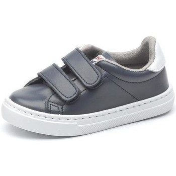 Chaussures Fille Baskets basses Cienta Chaussures fille  Deportivo Scractch Piel bleu marine