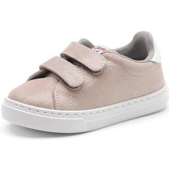 Chaussures Fille Baskets mode Cienta Chaussures fille  Deportivo Scractch Glitter rose