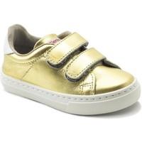Chaussures Fille Baskets basses Cienta Chaussures fille  Deportivo Scractch Laminado doré