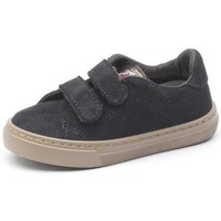 Chaussures Fille Baskets mode Cienta Chaussures fille  Deportivo Velcro On Suede noir