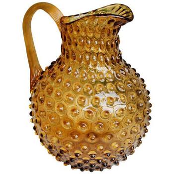 Maison & Déco Vases, caches pots d'intérieur Chehoma Pichet ambre Pointe de Diamant 2L Ambre