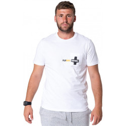 Vêtements Homme T-shirts manches courtes After90 More pocket small Blanc