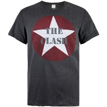 Vêtements Homme T-shirts manches courtes Amplified  Gris foncé