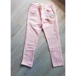 Vêtements Femme Jeans 3/4 & 7/8 Desigual Pantalon 7/8eme Rose