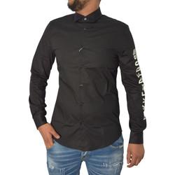 Vêtements Homme Chemises manches longues Bikkembergs Chemises  Noir Noir