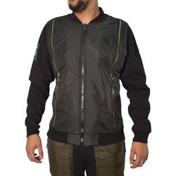Vêtements Homme Blousons Horspist Veste  noir - CAYENNE M340 BLACK Noir