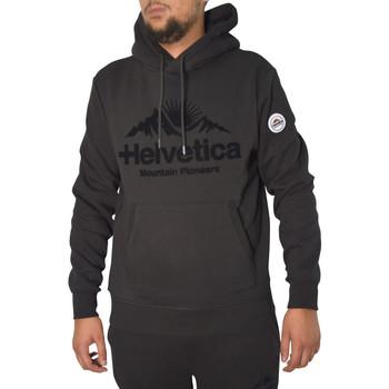 Vêtements Homme Sweats Helvetica Sweat  noir - BRUNELLI BLACK Noir