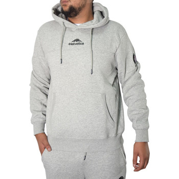Vêtements Homme Sweats Helvetica Sweat  gris - ROSS GREY Gris