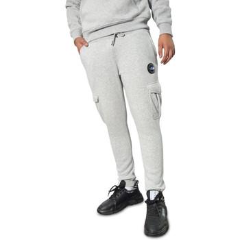 Vêtements Homme Pantalons de survêtement Helvetica Joggings  gris - BURTON GREY Gris