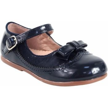 Chaussures Fille Ballerines / babies Bubble Bobble Chaussure fille  a3555 bleu Bleu