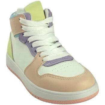Chaussures Fille Baskets montantes Bubble Bobble Fille de sport  a3510 divers Rose