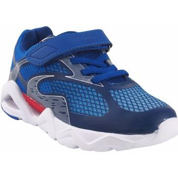 Chaussures Garçon Baskets basses Bubble Bobble Garçon de sport  a3410 bleu Bleu