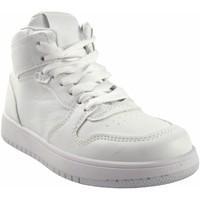 Chaussures Fille Baskets montantes Bubble Bobble Fille de sport  a3510 blanc Blanc