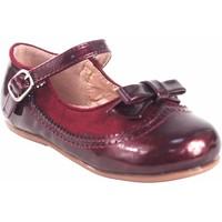 Chaussures Fille Ballerines / babies Bubble Bobble Chaussure fille  a3555 bordeaux Rouge