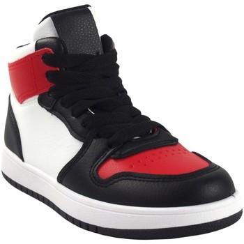 Chaussures Garçon Baskets montantes Bubble Bobble Garçon de sport  a3510 bl.red Rouge