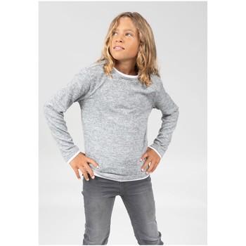 Vêtements Garçon T-shirts & Polos Deeluxe T-Shirt MONAN Light Grey Mel