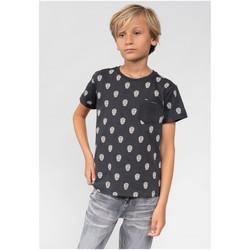 Vêtements Garçon T-shirts & Polos Deeluxe T-Shirt CABEZA Charcoal