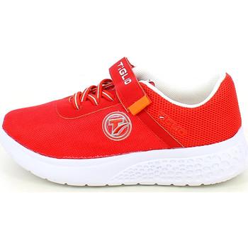 Chaussures Garçon Baskets basses Tiglio 7203.11_29 Rouge