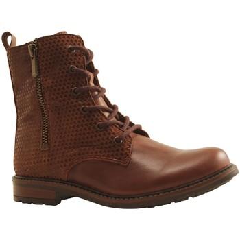 Chaussures Fille Bottines Bellamy EDI MARRON