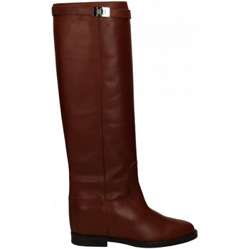 Chaussures Femme Bottes ville Via Roma 15 STIVALE CON LUCCHETTO cuoio