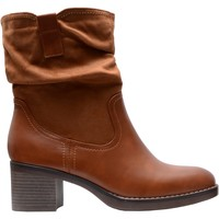 Chaussures Femme Bottines The Divine Factory Bottines Camel