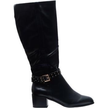 Chaussures Femme Bottes de pluie The Divine Factory  Noir
