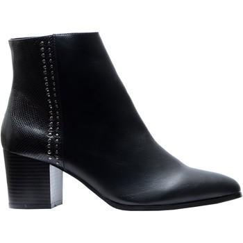 Chaussures Femme Bottines The Divine Factory Bottines Noir