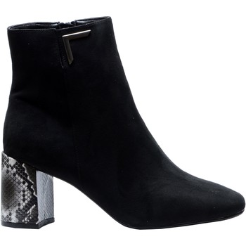 Chaussures Femme Bottines The Divine Factory Bottines QL4534 Noir