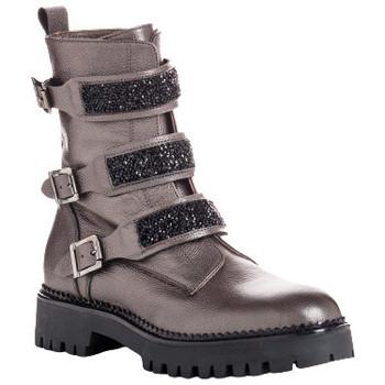 Chaussures Femme Bottines Reqin's romaine c graine Gris