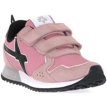 Chaussures Fille Baskets mode W6yz 0M03 JET VL J GLITTER ROSE Rosa