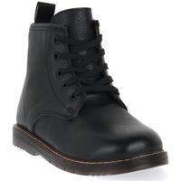 Chaussures Garçon Boots Grunland NERO 88NILL Nero