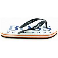 Chaussures Enfant Tongs BOSS Tong junior Hugo  29148 Blanc