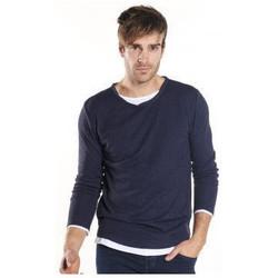 Vêtements Homme Pulls Deeluxe Pull homme DEELUXE MOHANSON bleu Bleu