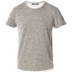 Vêtements Homme T-shirts manches courtes Deeluxe Tee shirt homme MOHAN gris Gris