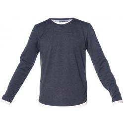Vêtements Homme T-shirts manches longues Deeluxe Tee shirt homme MOHANSON bleu Bleu