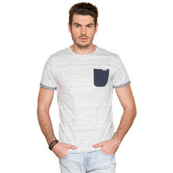 Vêtements Homme T-shirts manches courtes Deeluxe Tee-shirt homme  Astec Blanc