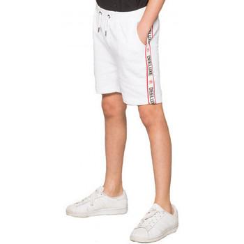 Vêtements Enfant Shorts / Bermudas Deeluxe Short junior  PUFF blanc Blanc