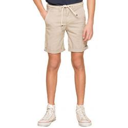 Vêtements Enfant Shorts / Bermudas Deeluxe Short Junior  KARMA beige Beige