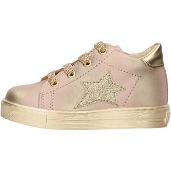 Chaussures Garçon Baskets mode Falcotto - Polacchino rosa/oro SASHA-1M19 ROSA