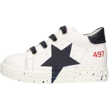 Chaussures Garçon Baskets mode Falcotto - Polacchino bianco SALAZAR-1N07 BIANCO