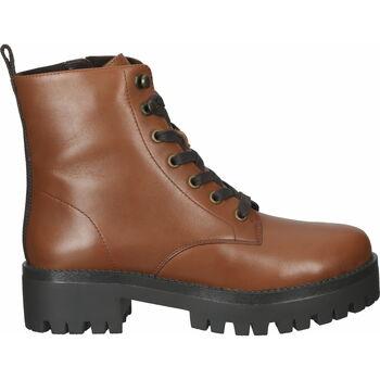 Chaussures Femme Boots SPM Bottines Cognac