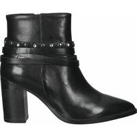 Chaussures Femme Bottines SPM Bottines Schwarz