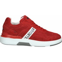 Chaussures Homme Baskets basses Bullboxer Sneaker Rot/Weiß