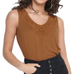 Vêtements Femme Tops / Blouses Jacqueline De Yong 15204528 Marron