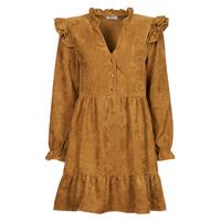 Vêtements Femme Robes courtes Betty London PINEA Camel