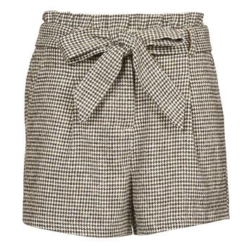 Vêtements Femme Shorts / Bermudas Betty London PRICSOU Noir / Ecru