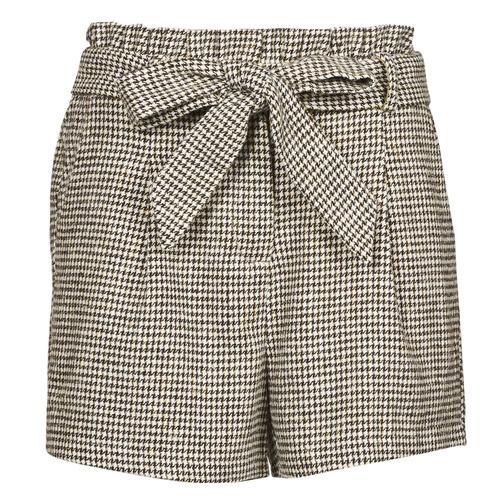 Vêtements Femme Shorts / Bermudas Betty London PIUBELLA Noir / Ecru