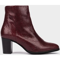Chaussures Femme Boots Pedro Miralles Beaumont rouge
