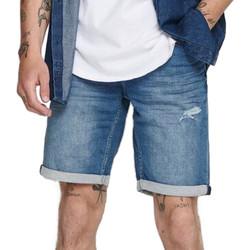 Vêtements Homme Shorts / Bermudas Only & Sons  22016950 Bleu
