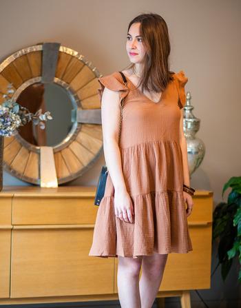 Vêtements Femme Robes courtes Céleste DAHLIA Camel
